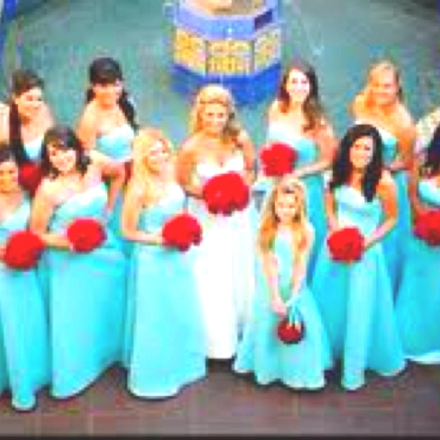 Red And Tiffany Blue Wedding Ideas: 25 Best Tiffany Blue And Red Wedding Images On Pinterest