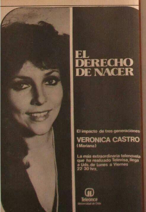 Veronica castro amor sin maquillaje la mujer del año valentina el rostro del amor romantica y calculadora el derecho de nacer