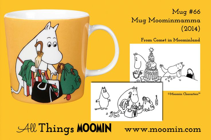 66 Moomin mug Moominmamma 2014