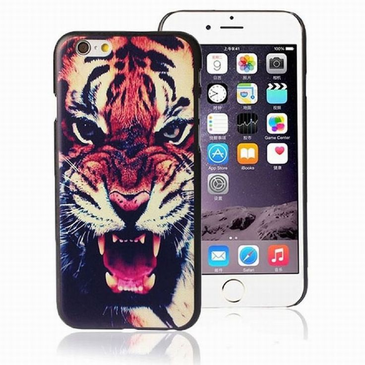 Find More Phone Bags & Cases Information about Tiger Roar Hard Case Back Cover coque Fundas carcasas de capas para For iphon iPhone 6 Plus Phone Accessories Luxury Brand Cases,High Quality case with belt clip,China case for samsung galaxy s Suppliers, Cheap case vinyl from beautiful daybreak on Aliexpress.com