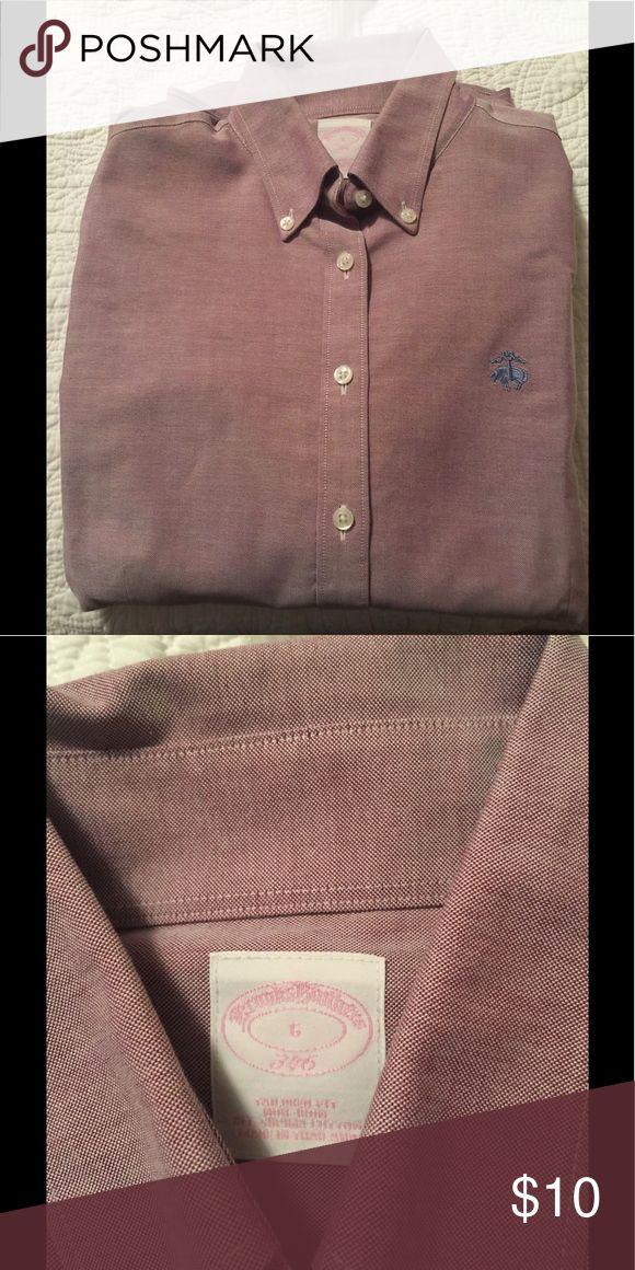 Brooks Brothers light purple women's oxford Light purple oxford button down Brooks Brothers Tops Button Down Shirts