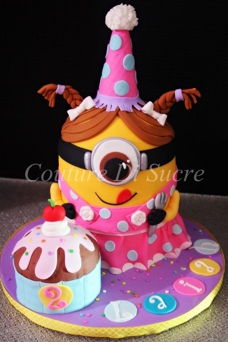 Minion Cake Decorations Uk : Minion Cake Cakes & Sweets Pinterest Minion cakes ...