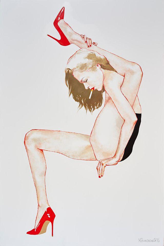 Прохладный эротизм: персональная выставка Маши Янковской (фото 5)