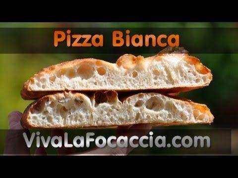 Ricetta Pizza Bianca nel Forno a Legna AlfaPizza