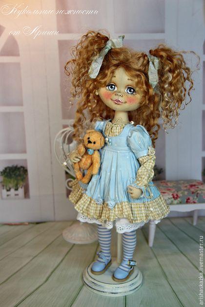 Коллекционные куклы ручной работы. Неженка . Кукла авторская текстильная . Кукла…