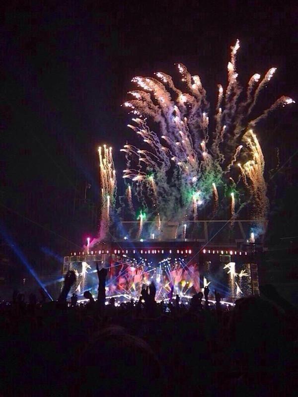 OTRA Fireworks // Sydney, Australia // 07-02-15