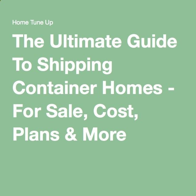 Best 25 shipping container homes cost ideas on pinterest for Cost to build a house from scratch
