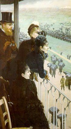 De Nittis, Corse al Bois de Boulogne (particolare ), 1881