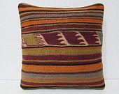 kilim pillow wool cushion cover 16x16 kilim pillow case novelty pillow case primitive pillow cover interior design throw pillow cover 24713