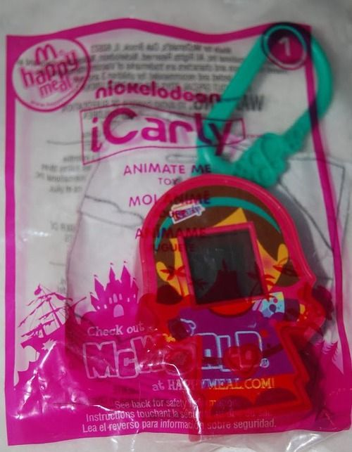 McDonald's 2011 iCarly Animate Me Toy Toy #1