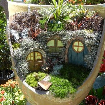 Find This Pin And More On Fairy U0026 Miniature Gardens By Barbrosen.
