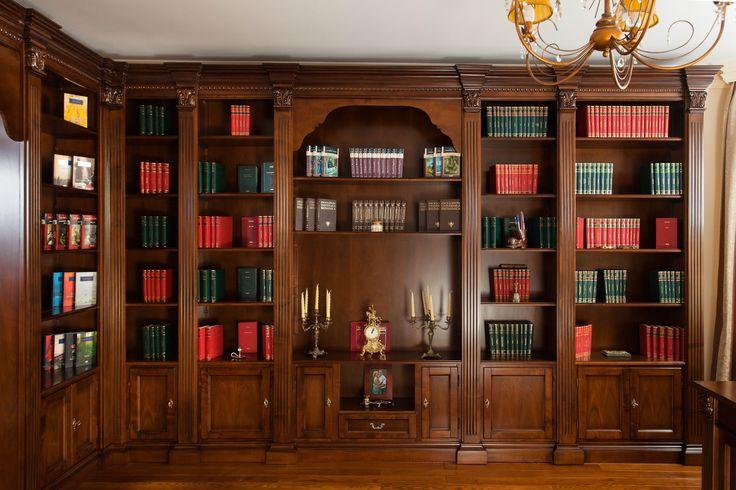 Mobila / Mobilier Biblioteca Elena clasica lemn masiv 4