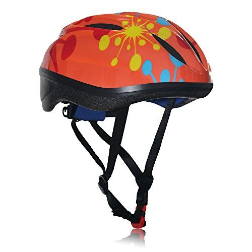 Dostar Kids Bike Helmet - Adjustable from Toddler to Youth Size, Ages 5-14 - Cycling Scooter Multi-sport Durable Kid Bicycle Helmets Boys and Girls will LOVE- CSPC for Safety and Comfort (Orange dots) - Dostar Kids Children Bicycle Bike Cycle Skater Adjustable Safety Crash Scooter HelmetThe child is in the growing stage, the joints are fragile, this protective gear set can provide comprehensive protection to you kids. Features: Bicycle adjustable child kids helmet Great looking helmet for…