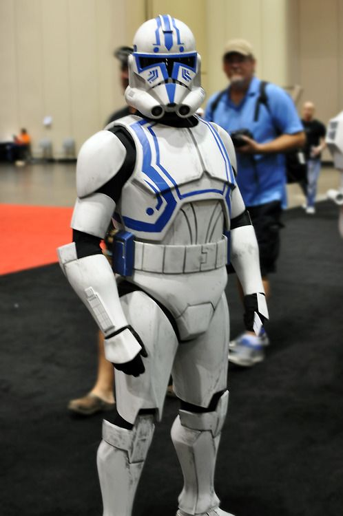 ct 9415 at star wars celebration vi costume by tiefighters - Clone Wars Halloween Costumes