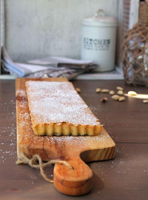 Tarte de amêndoa (simples) | Easy almond tart
