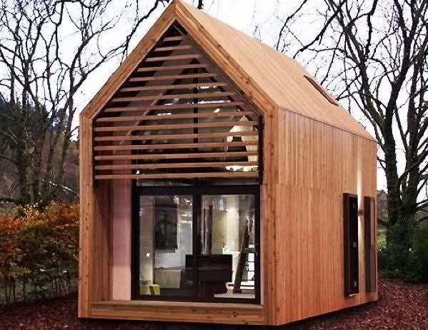 love you big: Portable Mini Houses  I could live out my years in this if I had a…