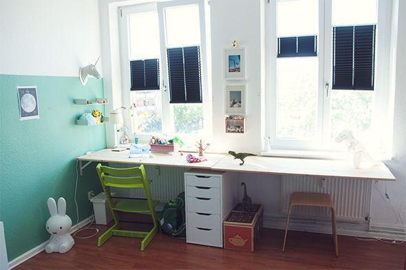 die besten 25 schreibtisch selbst bauen ideen auf pinterest schreibtischideen bastelraum. Black Bedroom Furniture Sets. Home Design Ideas