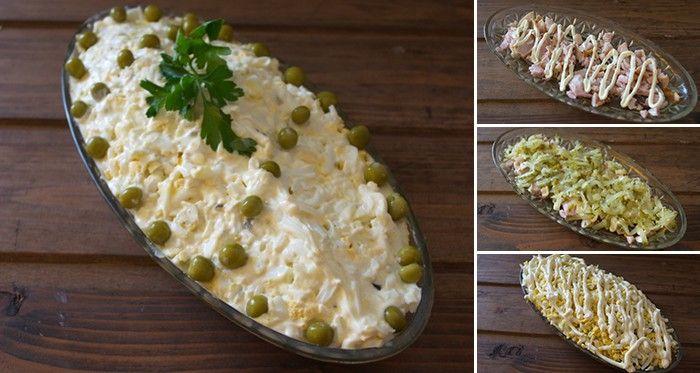 Velkorysá porce vařených vajíček, sýru a česneku je přesně to, co si žádají Vaše chuťové pohárky, když přijde slovo na majonézový salát. Pouze 5 jednoduchých ingrediencí budete potřebovat pro výrobu tohoto nejlepšího domácího salátu. Co více, příprava je velmi jednoduchá a zabere Vám pouze pár minut! Co budete potřebovat? 3 vajíčka 100 g hrudkovitého tvarohu …