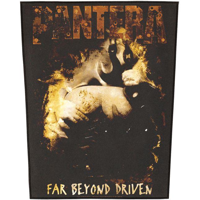 PANTERA Far Beyond Driven Back Patch  #pantera #farbeyonddriven #rockabilia #merchandise #licensedmerchandise #merch #metal #rock #backpatches #music