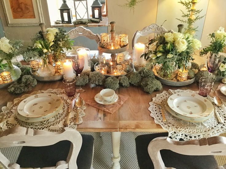 #tabledecor natural rustic chic by @violamalva and @chiantihome