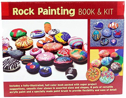 Fun Camping Ideas Kids And Adults Will Love Rock Painting Book Kit