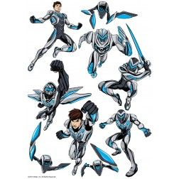 Max Steel Character Sheet