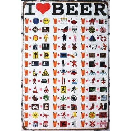 I love beer #deco
