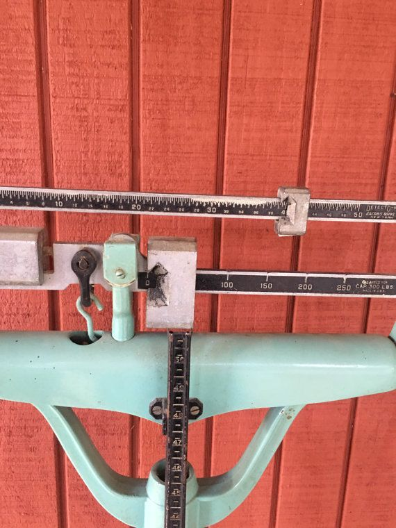 Vintage Bathroom Scales Midcentury Doctor Scale Human Scale