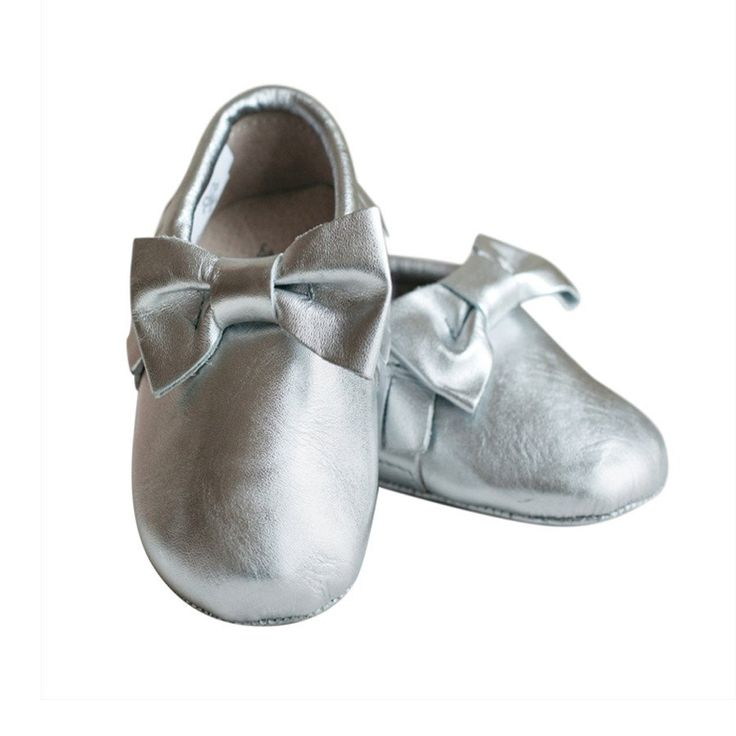 Shoes- Maddison Silver - Shoes - Baby Belle