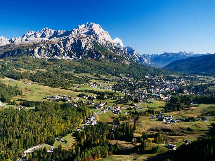 "Cortina d'Ampezzo - the ""Queen of the Dolomites"" - Belluno"