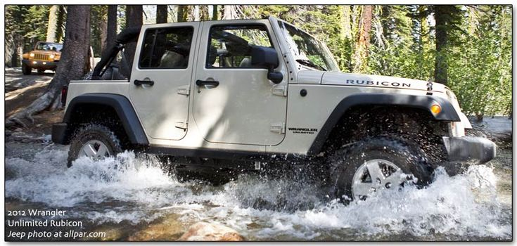 Jeep Wrangler Unlimited-  Looks really fun!