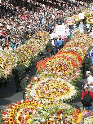 Desfile de Silleteros - Medellin #colombia
