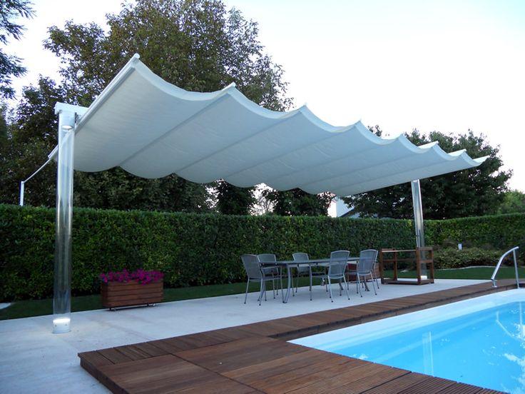 Ombrellone da giardino per piscina idee arredo - Arredi da esterno design ...