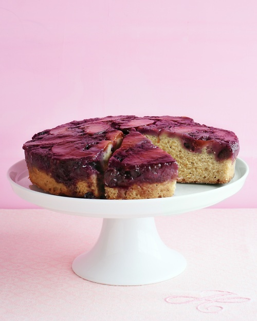 Plum Blueberry Upside-Down Cake: Health Desserts, Blueberries Cakes, Blueberries Upside Down, Stewart Recipes, Cakes Recipes, Upside Down Cakes, Martha Stewart, Upsidedown, Plum Blueberries