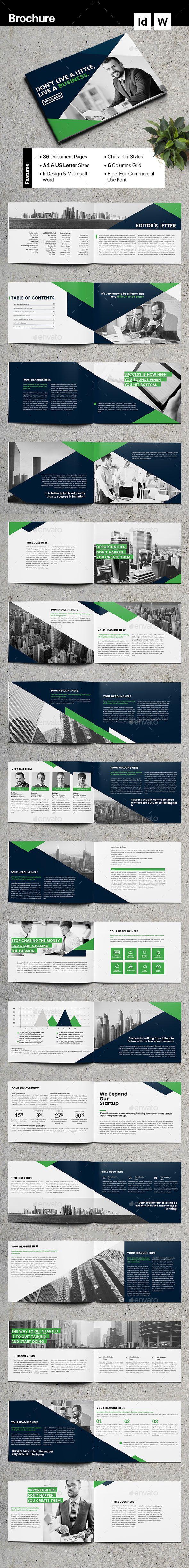 #Brochure - Corporate Brochures Download here: https://graphicriver.net/item/brochure/19966430?ref=alena994