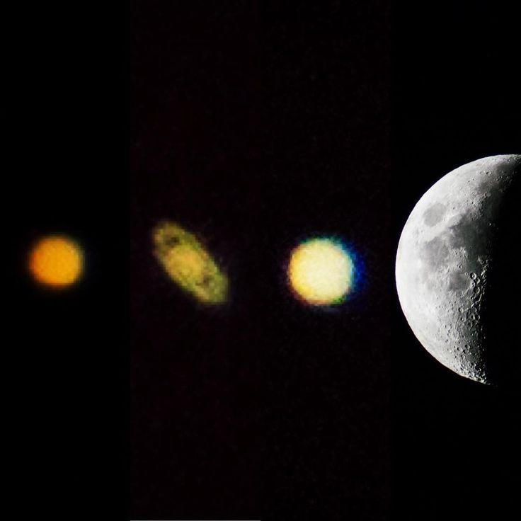 moon jupiter saturn aligned - 736×736