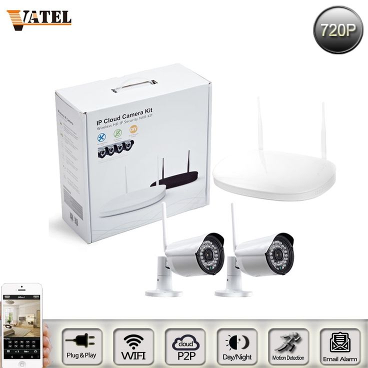 140.49$  Watch more here - http://aimlc.worlditems.win/all/product.php?id=32729270162 - 2016 new wireless surveillance cameras 2 Kit 720p wifi ip camera kit supports Plug and Play monitor home Security Camera System