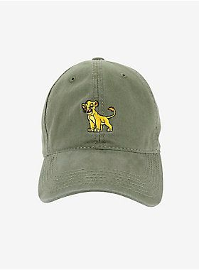 63f454d1d4e83 Disney The Lion King Simba Dad Hat - BoxLunch Exclusive in 2019 ...