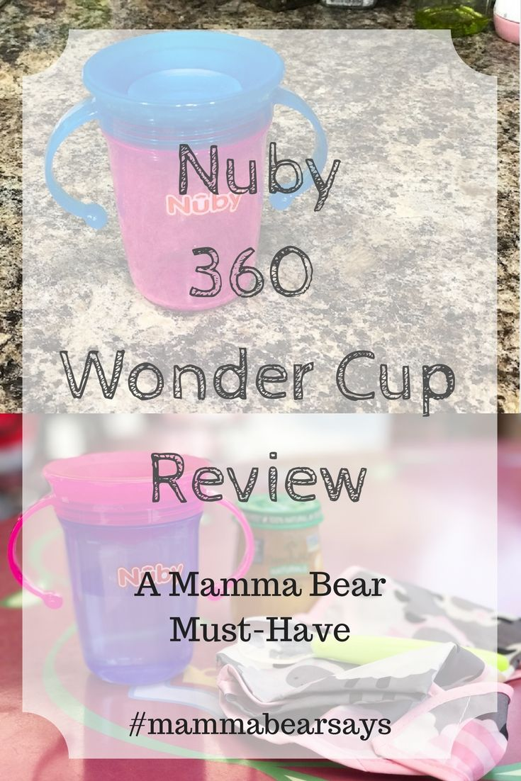 Around the time Lia turned 6 months old we began to introduce a sippy cup. I don't know if it's because she is breastfed or that she was teething but any time we gave her one with a spout she would only chew on the spout and would not drink anything. The Nuby 360 Wonder …