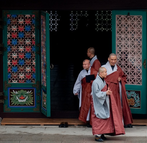Korean monks