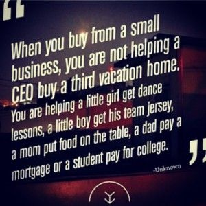 Do you Support Small Businesses or Big Box Stores? Learn how to strengthen our economy, and take back what is rightfully ours.