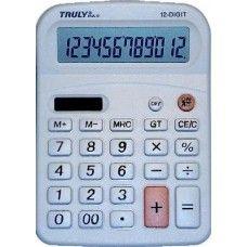 Asztali napelemes számológép 12 karakteres Truly 814A-12 Ft Ár 1,719
