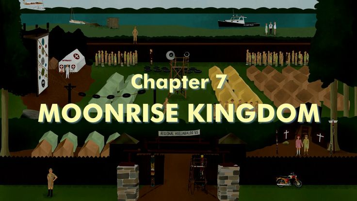 THE WES ANDERSON COLLECTION CHAPTER 7: MOONRISE KINGDOM. Adapted from the book THE WES ANDERSON COLLECTION by Matt Zoller Seitz
