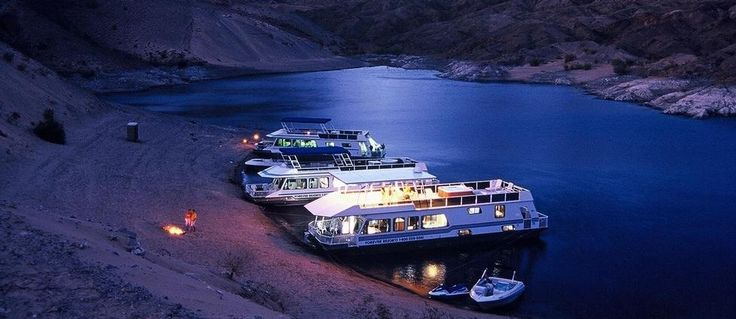 Lake Mead Houseboat Rentals and Vacation Information.... I've done this and it's a blast!
