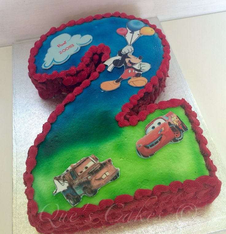 Best 25 Number 2 Cakes Ideas On Pinterest Second