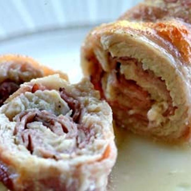 Turkey And Bacon Rolls | nom nom nom | Pinterest
