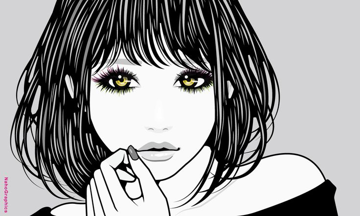【web】http://naho.tv/ 【twitter】https://twitter.com/NahoGraphics 【Youtube】https://www.youtube.com/channel/UC81jOID4X2mNtjh47jp02oQ 【instragram】https://www.instagram.com/naho_note/  #illustration#drawing#art#design#fashion#hair#hairstyle#face #nail #design#イラスト#イラストレーション#アート#女性イラスト#ドローイング#ipad#applepencil#procreate #手書き #絵 #make #メイク #ネイル #女の子 #girl #woman #女性 #ファッション #ボブ #モノクロ #monochrome #白黒