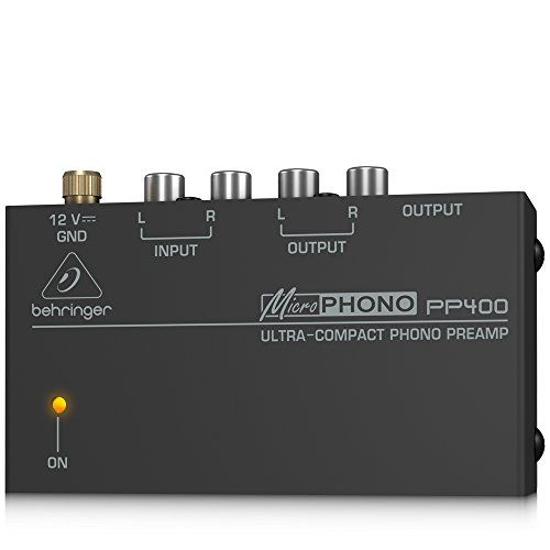 BEHRINGER MICROPHONO PP400 #carscampus