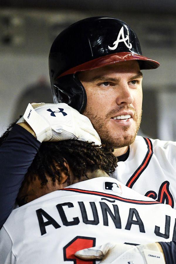 Freeman Acuna Atlanta Braves Baseball Atlanta Braves Braves