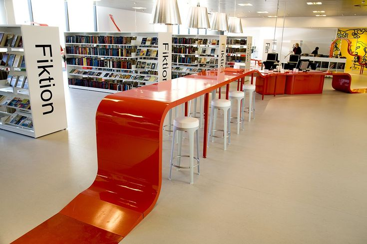 With a new interior design of Hjørring Central Library, Rosan Bosch has created an innovative vision of the library of the future with an emphasis on human interactions, experiences and user involvement